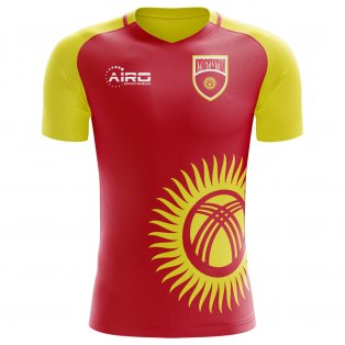 2020-2021 Kyrgyzstan Home Concept Football Shirt - Kids