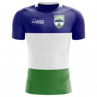 2018-2019 Lesotho Home Concept Football Shirt - Kids
