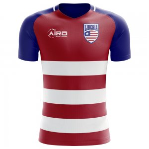 2018-2019 Liberia Home Concept Football Shirt