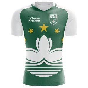 2018-2019 Macau Home Concept Football Shirt