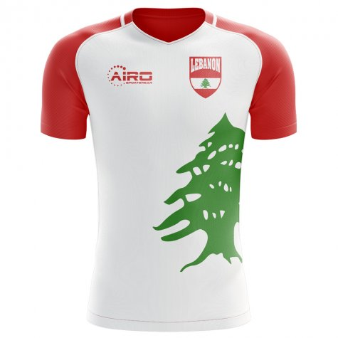 2018-2019 Lebanon Home Concept Football Shirt