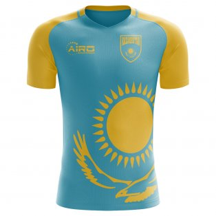 2020-2021 Kazakhstan Home Concept Football Shirt - Kids