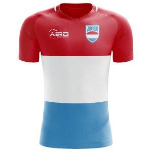 2018-2019 Luxembourg Home Concept Football Shirt (Kids)
