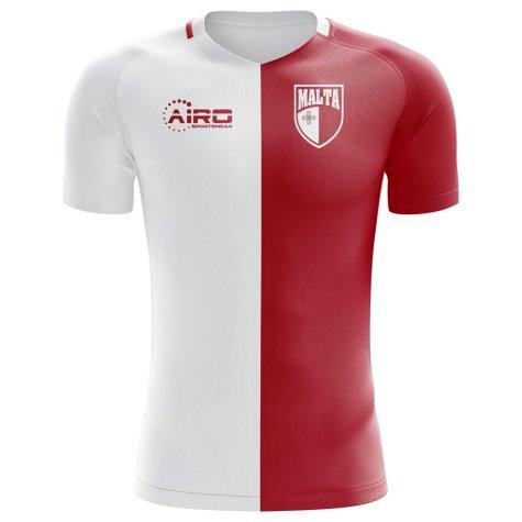 2018-2019 Malta Home Concept Football Shirt