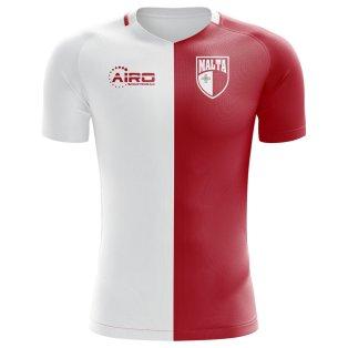 2020-2021 Malta Home Concept Football Shirt (Kids)