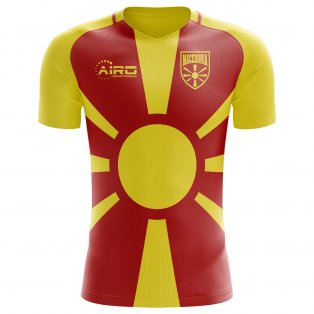 2018-2019 Macedonia Home Concept Football Shirt