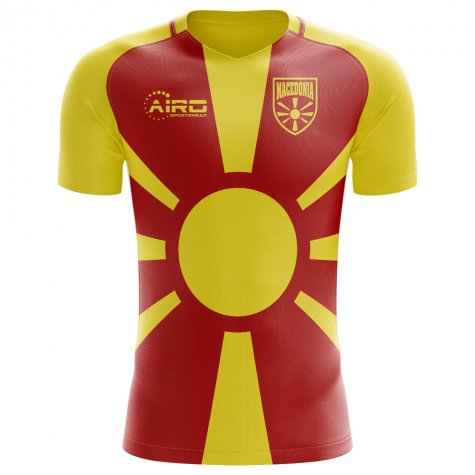 2018-2019 Macedonia Home Concept Football Shirt (Kids)