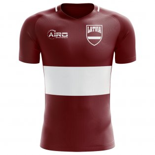 2020-2021 Latvia Home Concept Football Shirt - Womens