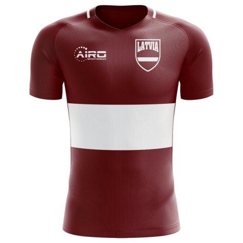 2018-2019 Latvia Home Concept Football Shirt