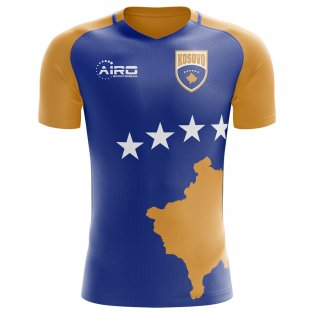 2020-2021 Kosovo Home Concept Football Shirt - Womens