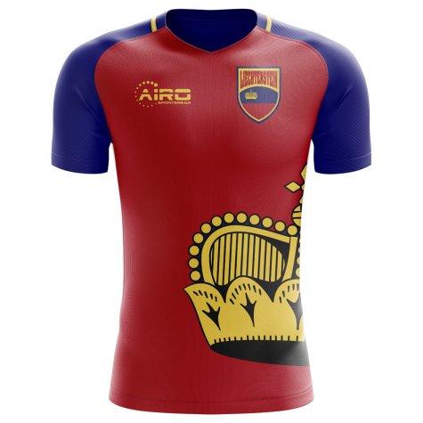 2020-2021 Liechtenstein Home Concept Football Shirt - Womens