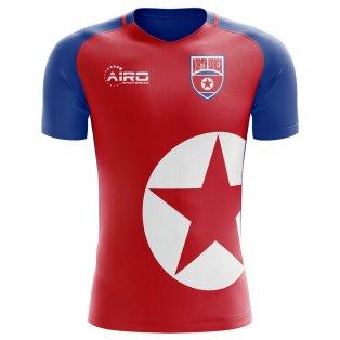 2018-2019 North Korea Home Concept Football Shirt