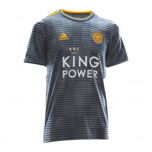 2018-2019 Leicester City Puma Away Football Shirt