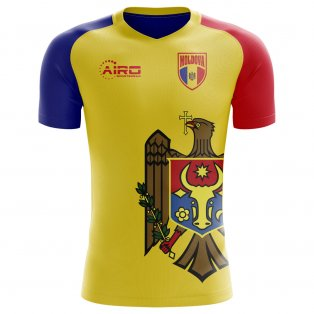 2018-2019 Moldova Home Concept Football Shirt