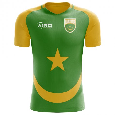 2018-2019 Mauritania Home Concept Football Shirt