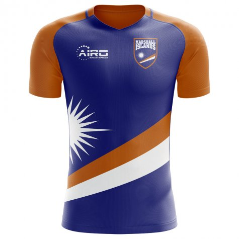 2018-2019 Marshall Islands Home Concept Football Shirt