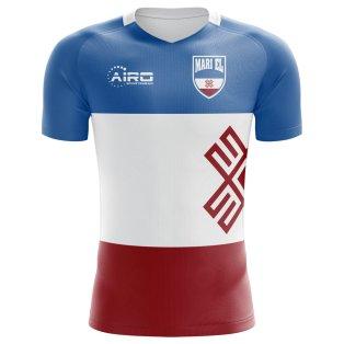 2018-2019 Mari El Home Concept Football Shirt - Kids
