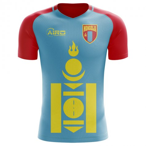 2018-2019 Mongolia Home Concept Football Shirt - Kids