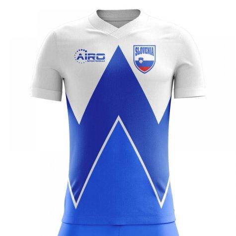 2020-2021 Slovenia Home Concept Football Shirt (Kids)