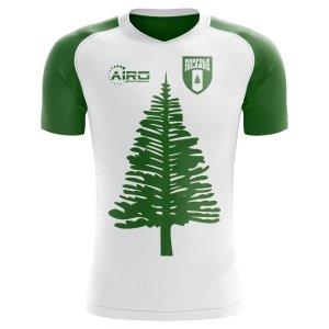 2020-2021 Norfolk Islands Home Concept Football Shirt - Womens