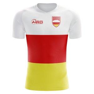2018-2019 North Ossetia Home Concept Football Shirt