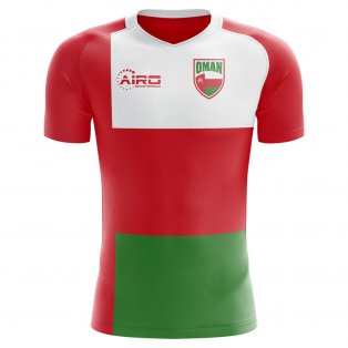 2018-2019 Oman Home Concept Football Shirt - Kids