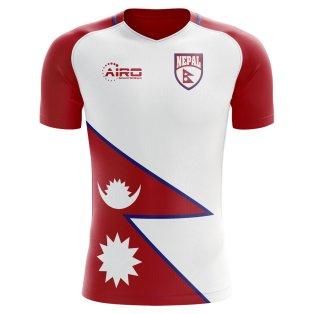 2018-2019 Nepal Home Concept Football Shirt
