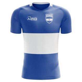 2020-2021 Nicaragua Home Concept Football Shirt - Kids