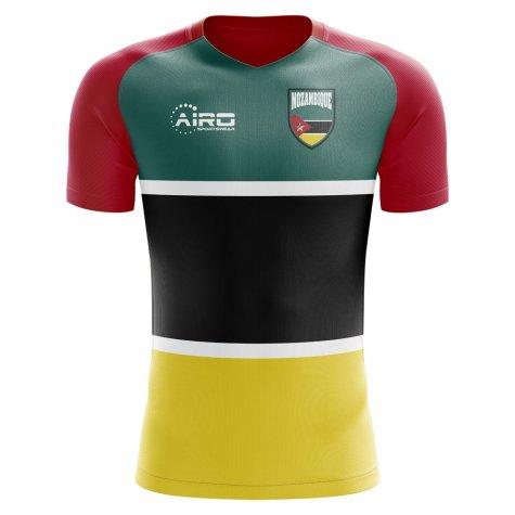 2018-2019 Mozambique Home Concept Football Shirt