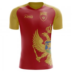 2018-2019 Montenegro Home Concept Football Shirt (Kids)