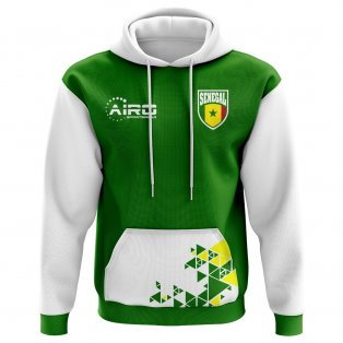 2018-2019 Senegal Home Concept Football Hoody (Kids)