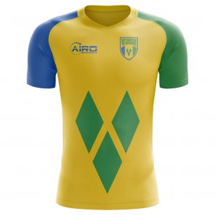 2018-2019 St Vincent and Grenadines Home Concept Football Shirt - Kids