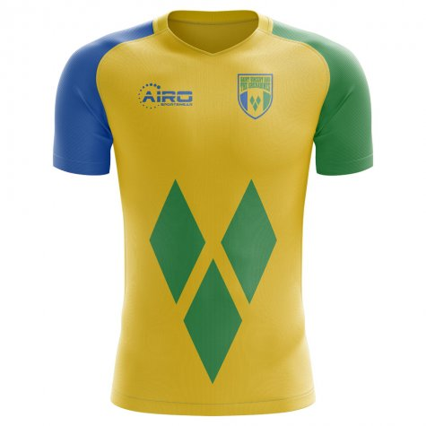 2020-2021 St Vincent and Grenadines Home Concept Football Shirt