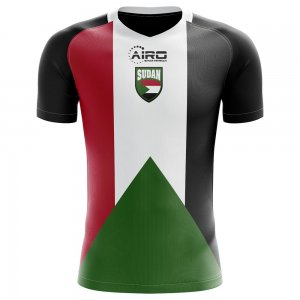 2018-2019 Sudan Home Concept Football Shirt - Little Boys