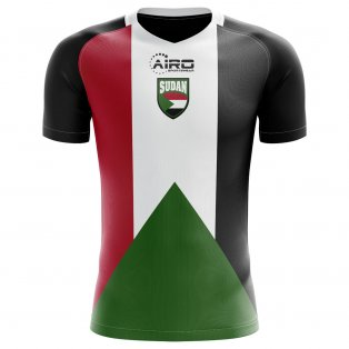 2020-2021 Sudan Home Concept Football Shirt