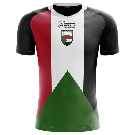2020-2021 Sudan Home Concept Football Shirt - Little Boys