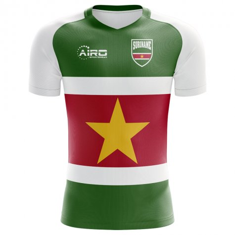 2018-2019 Suriname Home Concept Football Shirt
