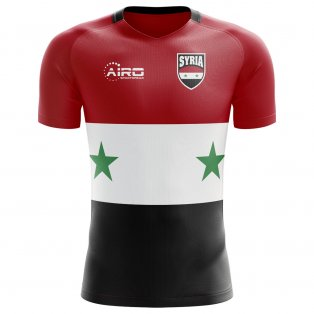 2020-2021 Syria Home Concept Football Shirt