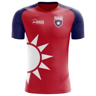 2018-2019 Taiwan Home Concept Football Shirt