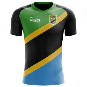 2018-2019 Tanzania Home Concept Football Shirt