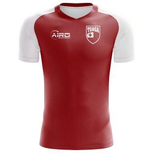 2020-2021 Tonga Home Concept Football Shirt - Kids