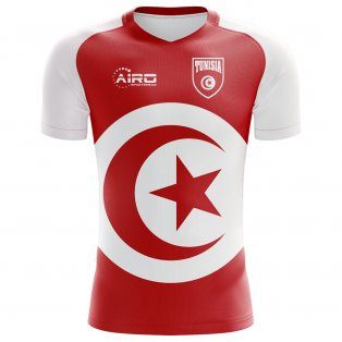 2018-2019 Tunisia Flag Concept Football Shirt (Kids)