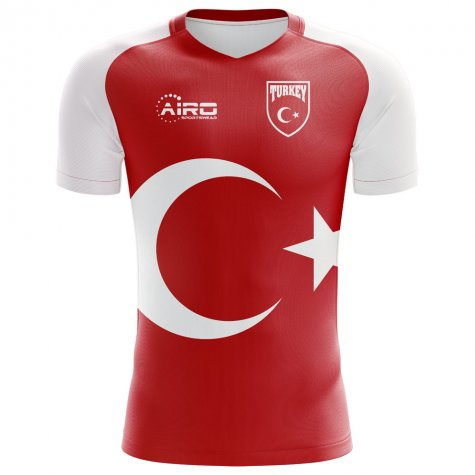 2018-2019 Turkey Home Concept Football Shirt (Kids)