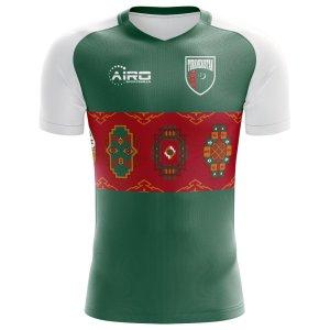 2018-2019 Turkmenistan Home Concept Football Shirt