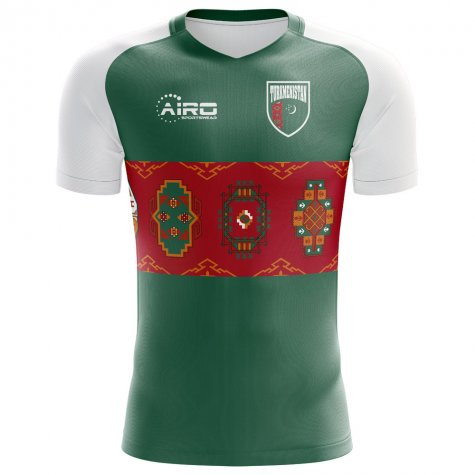 2018-2019 Turkmenistan Home Concept Football Shirt - Kids
