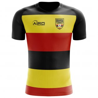 2020-2021 Uganda Home Concept Football Shirt - Kids