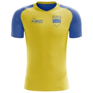 2020-2021 Ukraine Home Concept Football Shirt (Kids)