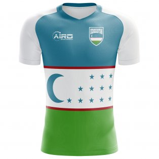 2020-2021 Uzbekistan Home Concept Football Shirt - Kids