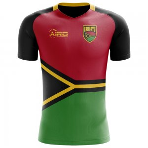 2018-2019 Vanuatu Home Concept Football Shirt - Kids