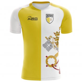 2020-2021 Vatican City Home Concept Football Shirt
